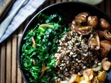 Roasted Sunchoke and Barley Bowl