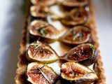 Rosemary fig tart