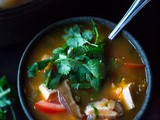 Vietnamese Hot and Sour Tamarind Soup