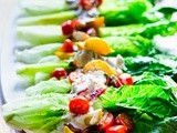 Wedge Salad with Creamy Gorgonzola Dressing