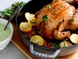 Whole Roasted Harissa Chicken