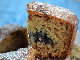 Cinnamon Blueberry Tea Cake