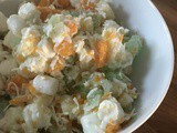Light and Tropical Ambrosia Salad