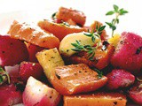 Roasted Vegetables with Lemon and Thyme
