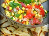 Eat More Vege – Grilled Corn Salsa