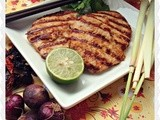 Lemongrass Grilled Pork Loins