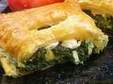 Puff Pastry – Spinach Pockets