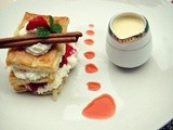 Strawberry, Apple Mille Feuille
