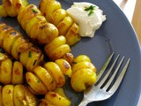 Curly Roasted Potatoes : Using The Potato Spiral