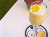 Fresh Fruit (Pineapple) Pudding In 5 Minutes
