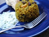 Mint Quinoa: Prepared with Freezable Mint Sauce