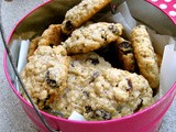 Oatmeal Raisin Cookies For Brownie Troop