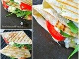 Panini Pesto Tortilla Sandwich
