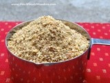 Poriyal Podi/ Vegetable Seasoning Powder