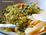 Simple Mixed Vegetable Rice