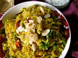 Vegetable Pulao / Pilaf / Pulav