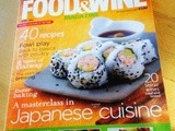 Fiona's Japanese recipes featured in Food & Wine magazine