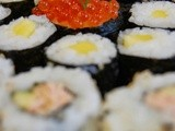 Japanese cooking and sushi making classes in Miele Gallery
