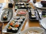 My Japanese cooking & sushi class