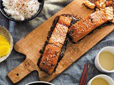 Salmon Teriyaki recipe from my cookbook  Japanese Food Made Easy