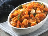 Chole chili | Chana Chili (Dry Version)