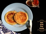 Eggless Apple Upside Down Pancake