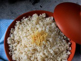 Ginger Fried Rice (no-Onion-no-Garlic version)