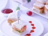 Layered Hung Curd Sandwich