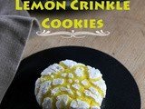 Lemon Crinkle Cookies