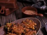 Mexican Corn Fritters (vegan)