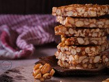 Peanut Chikki | Peanut Brittle (using 2 ingredients)