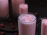 Rose Milk aka Gulab ki Sharbat