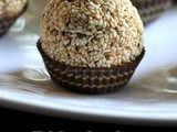 Sesame Brown Sugar Ladoo