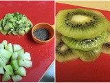 Kiwi Popsicles | Weight Loss Snack rich in Anti-Oxidants