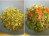 Sev Chat with Sprouts | Healthy Indian Chat Recipes