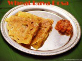 Wheat Rava Dosa | Crispy Dosa Recipe for Diets