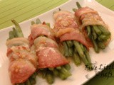 Bacon-Wrapped Green Bean Bundles