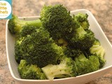 Broccoli Florets with Olive Oil