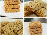 Peanut Butter and Honey Rice Crispy Treats