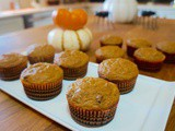 Pumpkin, Banana and Chocolate Chip Muffins