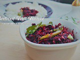 Beetroot Poriyal Fry Recipe | Flavour Diary | Side Dish | Easy Indian Vegetarian Recipes