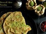 Broccoli Aloo Paratha Recipe | Vegetarian | Broccoli Recipe | Flavour Diary