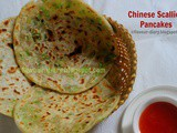 Chinese Scallion Pancake Recipe | How to make chinese breakfast Pancakes | Flavour Diary