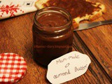 Homemade Chocolate Almond Butter | Dairy Free Edible Gift Ideas | Flavour Diary