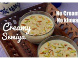 How to make Creamy Semiya Custard | No khova No Cream | Quick Indian Dessert Recipe | FlavourDiary