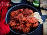 Hyderabadi Dum Ka Red Chicken | Indian Curry Recipe | Hyderabadi Cuisine