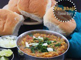 Pav Bhaji | Vegetarian | Indian Street Food | Flavour Diary