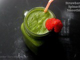 Strawberry Spinach Smoothie Recipe | Healthy Food | Diet Recipes