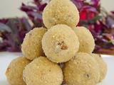 Coconut Rava Laddu Recipe