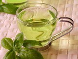 Iced Green Tea with Grape Juice & Honey Recipe